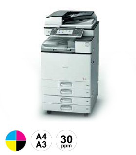 11 Ricoh MPC3004 multifunctional