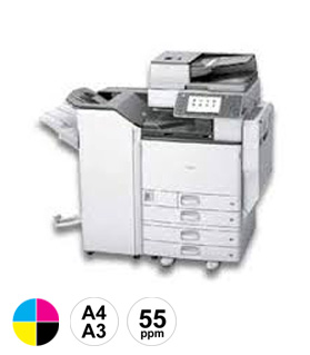 17 Ricoh MPC5504 multifunctional