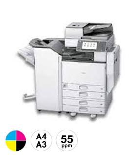 17 Ricoh MPC5504 multifunctional