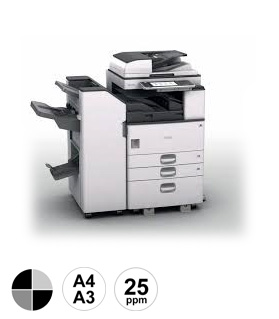3 Ricoh MP2554 multifunctional
