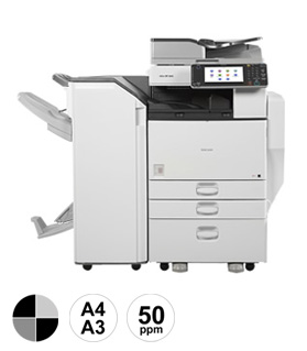 8 Ricoh MP5054 multifunctional