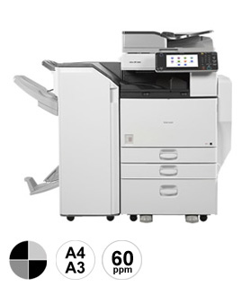 9 Ricoh MP6054 multifunctional